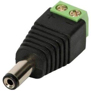 Conectores P4 macho/hembra
